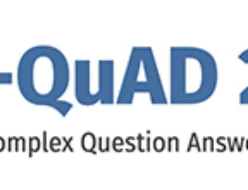 LC-QuAD – Largescale Complex Question Answering Dataset